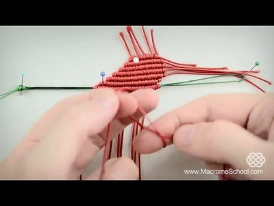 DIY Macrame Heart Gift for Valentines Tutorial