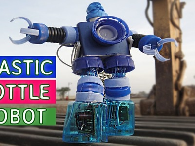 DIY Plastic Bottle Robot Toy for kids #3  | Backyard Crafts