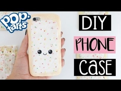 DIY POP TART PHONE CASE From Scratch!