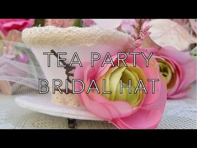 DIY Tea Party Bridal Hat