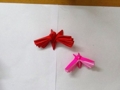 Easy Origami Art crafts -  How to make an origami butterfly