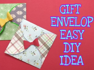 Gift Envelop DIY Idea, Craft Guru