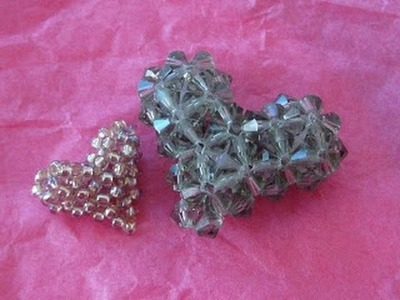 How to bead a Puffy Heart Part 2