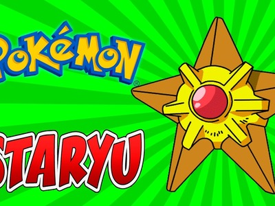 How to draw Staryu pokemon Easy drawing tips step by step
