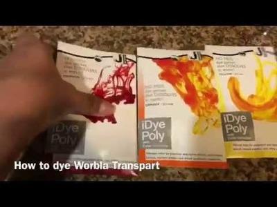 How to dye Worlba Transpart