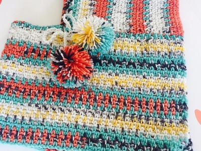 How To: Make a Poncho, put together a poncho, toddler poncho, crochet poncho