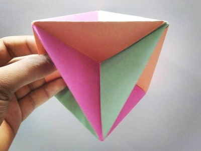 How to Make a Simple Origami Spinner - Easy & Fun Origami Tutorials Creative Ideas