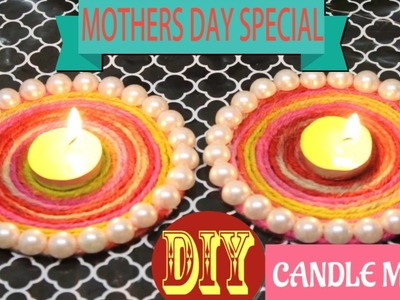 How To Make Cute Candle Mat: Mother`s Day Special