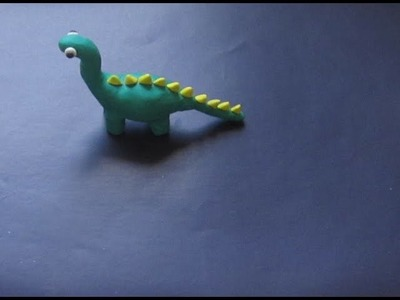 How to make dinosaur with clay  |  Clay Modelling Dinosaur