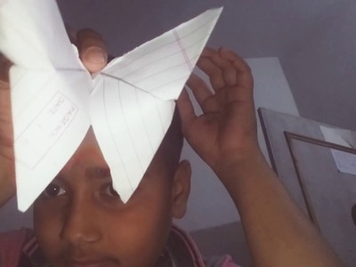 How to make oragami butterfly