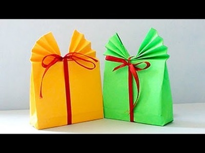 How to Make Paper GIFT BAG | DIY Paper Crafts and Arts