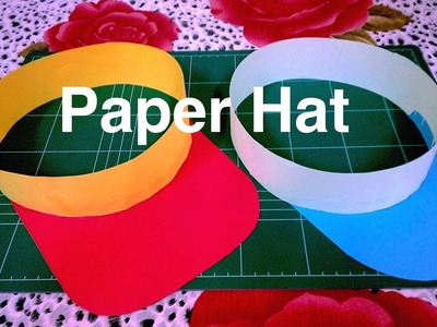 How to make paper hat. DIY