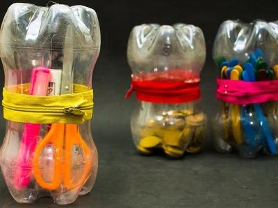 How To Make Waste Bottle Storage Box