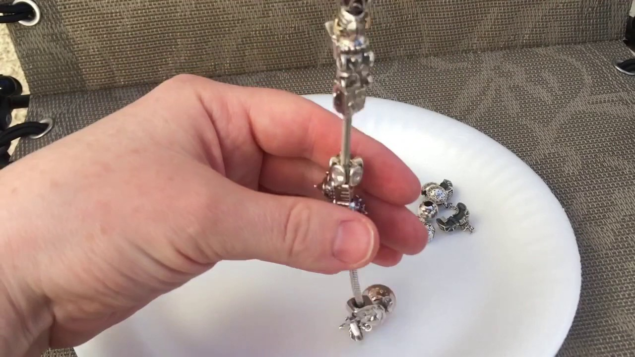 How to remove Pandora charms quickly and easily