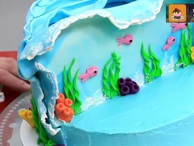MOANA CAKE How To Make by CakesStepbyStep
