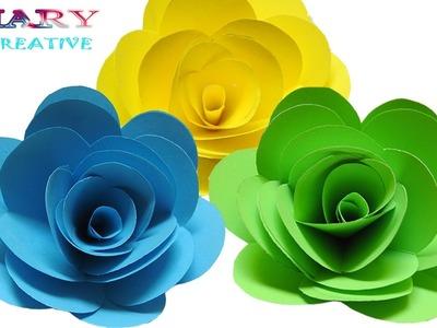Papercraft: How to Make Paper Roses    Paper Roses   Origami Rose   Beautiful Roses