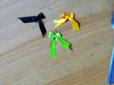 Ribbon Art  - How to make a ribbon bow