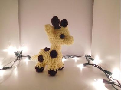 Amigurumi Crochet Giraffe Tutorial