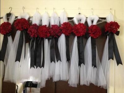 DIY Church Wedding Decorating Ideas