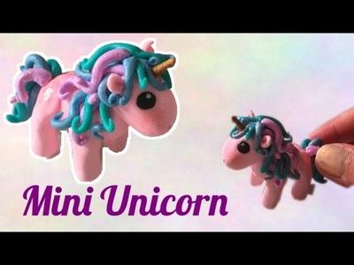 DIY Miniature Unicorn with polymer clay - tutorial