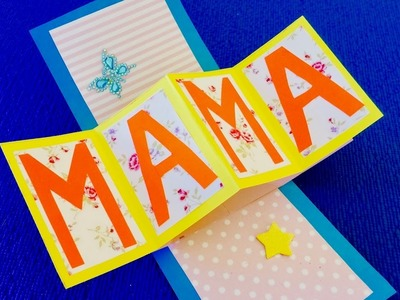 DIY: Quick end easy cards for mothers day.  Mothers day cards ideas for kids