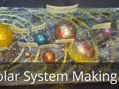 Diy:Solar System Making(school Project)