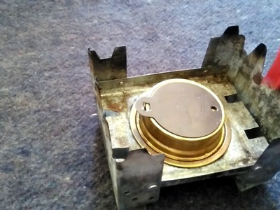 DIY Trangia stove stand
