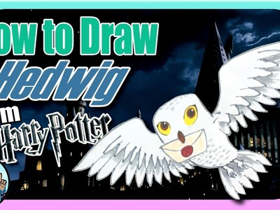 ???? How to Draw Hedwig from Harry Potter