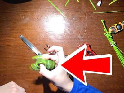 How to make a hand spinner with zip ties for 2.00$!!