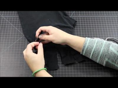 How to Make a No Sew Yoga Mat Bag