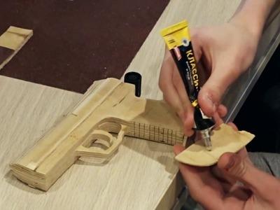 How To Make A Paper Gun That Shoots 2017