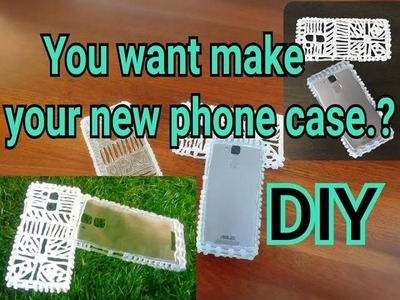 How to Make Any Smartphone Case Easy Way (DIY in 2017)