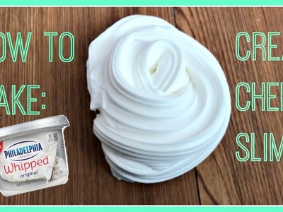 How To Make Cream Cheese Slime! | Soft Fluffy Creamy Spreadable Slime DIY