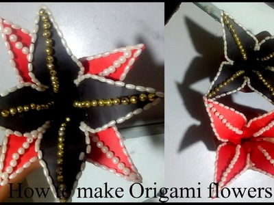 How To Make   Origami Flower: Easy Tutorial by M.Fayyaz