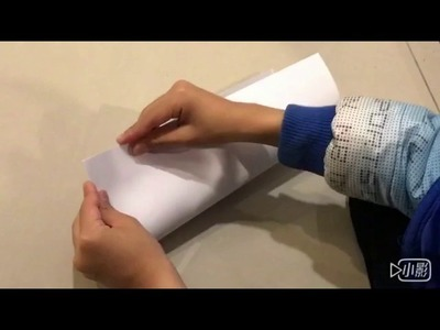 How to make the best BOOMERANG paper airplane that comes back to you