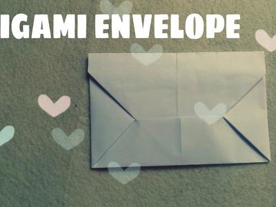 Hướng dẫn cách gấp THƯ GIẤY TỎ TÌNH  ||  Easy origami envelope tutorial