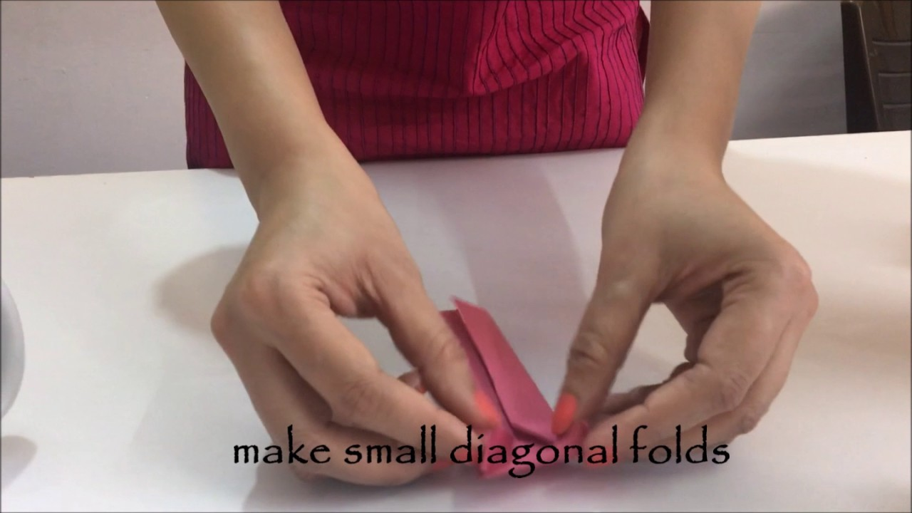 How To Make An Origami Shirt And Pants