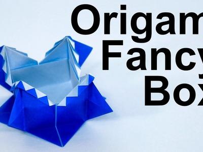 Origami Fancy Box Tutorial (Traditional)