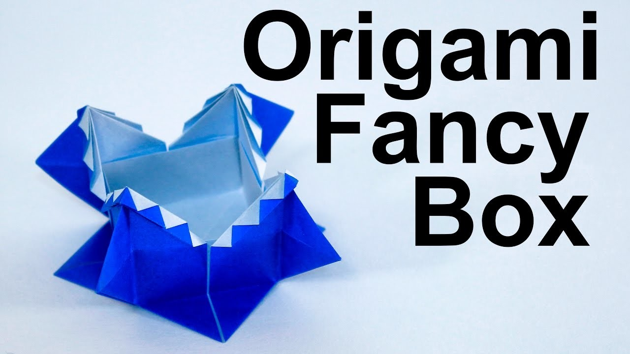 Origami Fancy Box Tutorial (Traditional) - photo#11