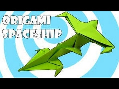 Origami for Kids: How to make a BOOMERANG PAPER AIRPLANE that FLIES BACK | Mini SpaceShip