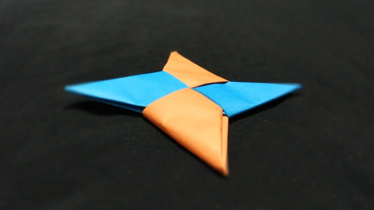 paper shuriken Origami ninja stars are fun to make and extremely popular as paper toys however, not many people realize that you can also fold a modified ninja star from a dollar.