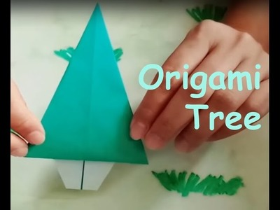 Origami Tree - Simple and Easy Paper Folding for Kids