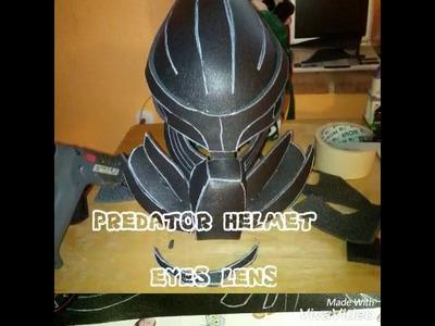 PREDATOR helmet eyes  DIY