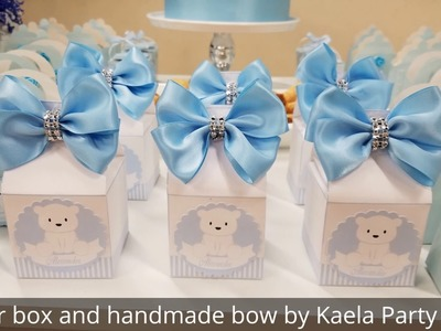 Teddy bear baby shower decoration by Kaela Party Craft
