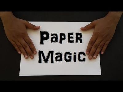 AMAZING PAPER MAGIC TRICKS | Paper Art Crafts Art | Origami Magic