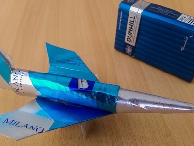 Awesome Trick with cigarette box How to make jet plane DIY Ideas hacks