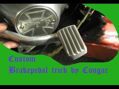 Custom DIY trick for your Harley brake pedal