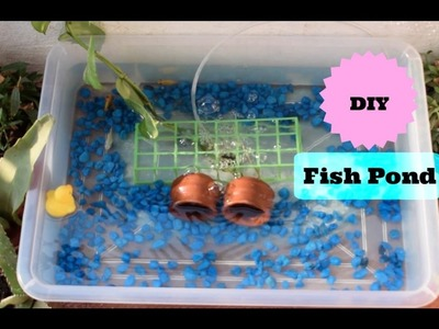 DIY Aquarium Fish Pond