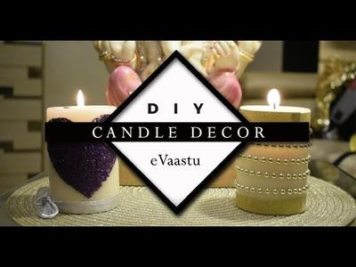DIY- Candle Decor