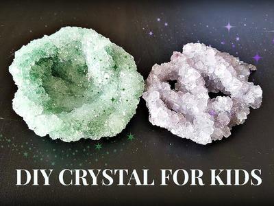 DIY Crystal For kids